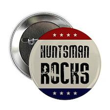 "Jon Huntsman Rocks 2.25"" Button (100 pack)"