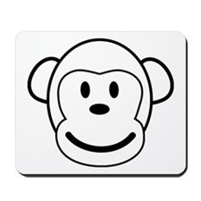 the mono monkey Mousepad