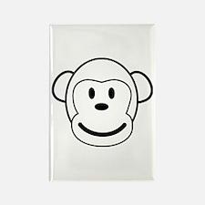 the mono monkey Rectangle Magnet