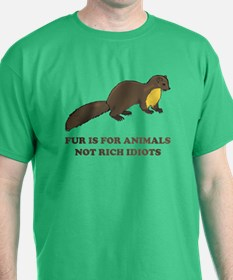 Fur is for animals T-Shirt