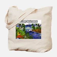 Occupy Retirement Tote Bag