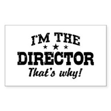 Director Decal