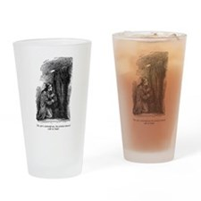 The Spirit Pointed Onward Drinking Glass