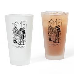 Scrooge's Nephew Drinking Glass