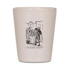 Scrooge's Nephew Shot Glass