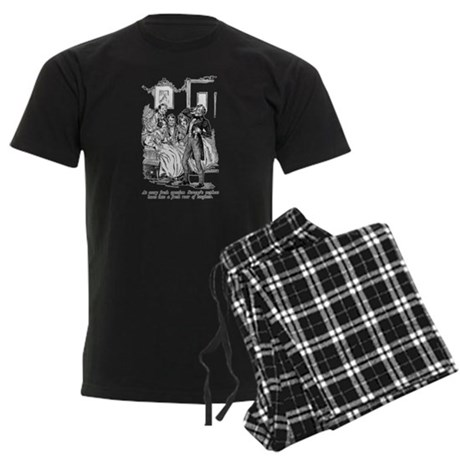 Scrooge's Nephew Men's Dark Pajamas