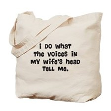 Wife's Head Tote Bag