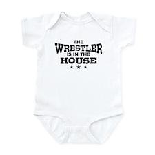 Funny Wrestler Infant Bodysuit