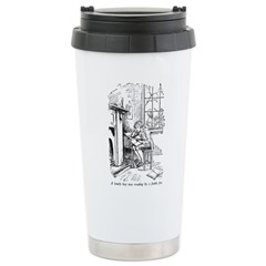 Lonely Boy Stainless Steel Travel Mug