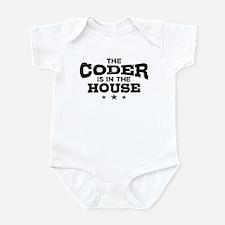 Funny Coder Infant Bodysuit
