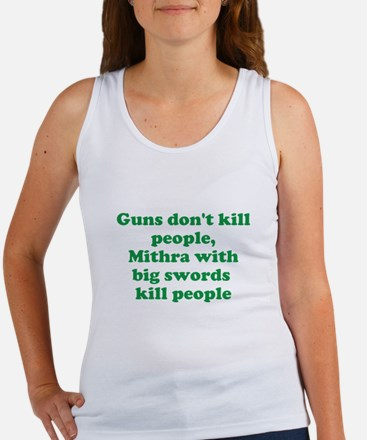 Mithra's with swords Women's Tank Top