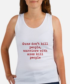 Warriors with axes Women's Tank Top