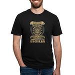 VINTAGE HOSPITAL Long Sleeve Dark T-Shirt