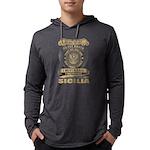 VINTAGE HOSPITAL Men's Fitted T-Shirt (dark)