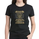 VINTAGE HOSPITAL Women's Fitted T-Shirt (dark)