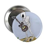 "Alien Playing Guitar - 2.25"" Button (10 pack)"