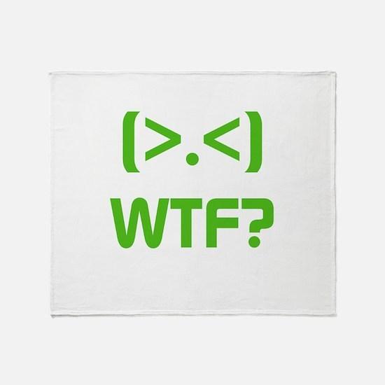 WTF Throw Blanket