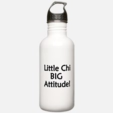 Little Chi, Big Attitude Water Bottle