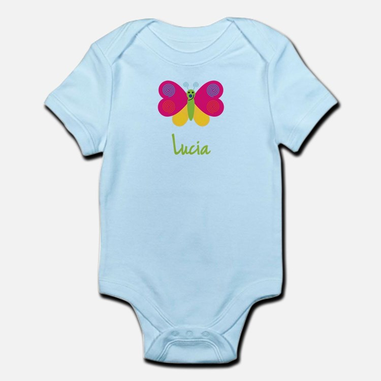 Lucia The Butterfly Infant Bodysuit