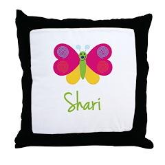 Shari The Butterfly Throw Pillow
