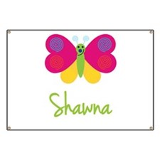 Shawna The Butterfly Banner