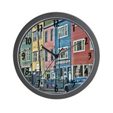 St Johns Newfoundland Wall Clock