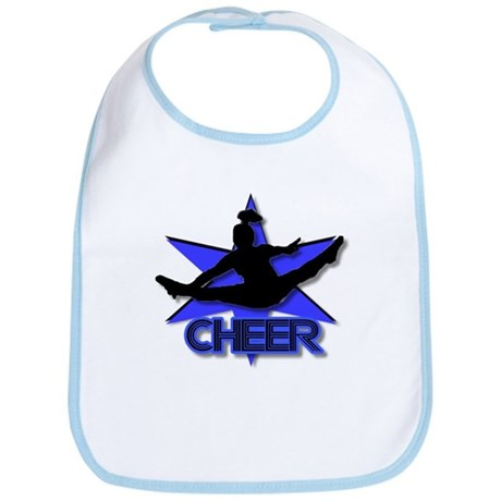 Cheerleader in blue Bib