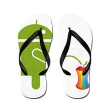 Cute Android Flip Flops
