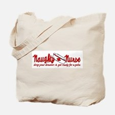 Naughty Nurse Tote Bag