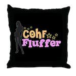 COHF Fluffer Throw Pillow