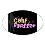 COHF Fluffer Oval Sticker