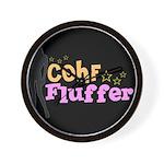 COHF Fluffer Wall Clock