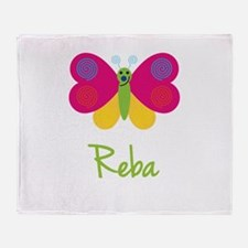Reba The Butterfly Throw Blanket