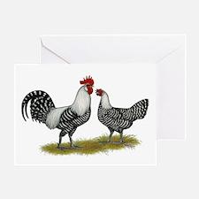 Brakel Chickens Greeting Card