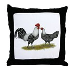 Brakel Chickens Throw Pillow