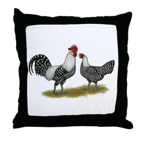Brakel Chickens Throw Pillow