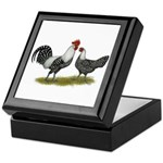Brakel Chickens Keepsake Box