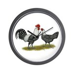Brakel Chickens Wall Clock