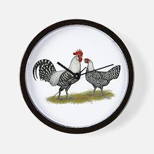 Brakel Chickens Wall Clock