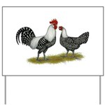 Brakel Chickens Yard Sign
