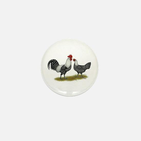 Brakel Chickens Mini Button
