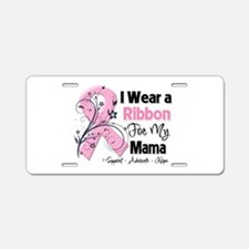 Mama Breast Cancer Aluminum License Plate