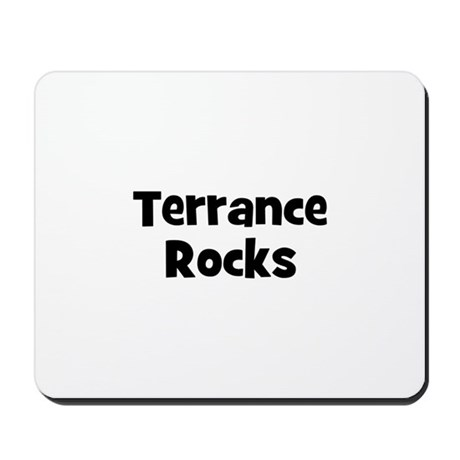 Terrance Rocks Mousepad
