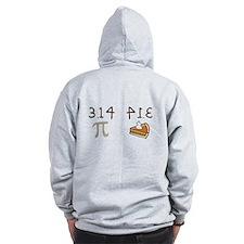 Pi vs Pie Zip Hoodie