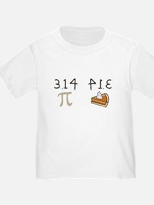 Pi vs Pie T