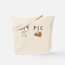 Pi vs Pie Tote Bag