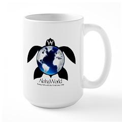 AlohaWorld Honu Large Mug