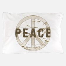 Distressed Peace Pillow Case