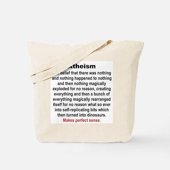 ATHEISM Tote Bag