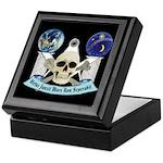 Masonic Virtus Junxit Mors Non Seperabit Tile Box